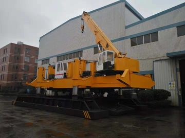 Silent Robot Hydraulic Pile Driving Machine / Pile Foundation Machine