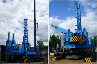 Hydraulic Rotary Piling Rig 16T Lifting Crane Environmental Protection